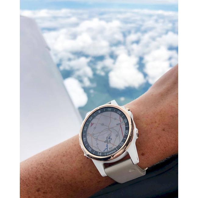 معرفي ساعت خلباني گارمين دي تو دلتا اس Garmin D2 Delta S Leather Band